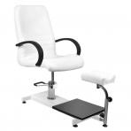 Kosmētikas krēsls HYDRAULIC PEDI SPA WHITE