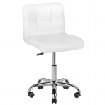 Meistro kėdutė COSMETIC CHAIR WHITE