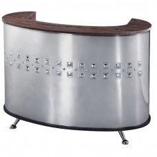 Reģistratūras galds GABBIANO RECEPTION DESK COSMIC METAL
