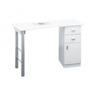 Manikīra galds ar putekļu savācēju GIOVANNI WHITE