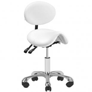 Meistro kėdutė COSMETIC STOOL GIOVANNI WHITE