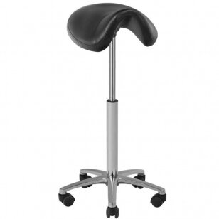 Meistro kėdutė STOOL BEAUTY BLACK HIGH