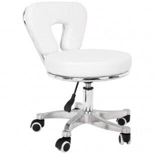 Meistro kėdutė BEAUTY STOOL PEDICURE WHITE