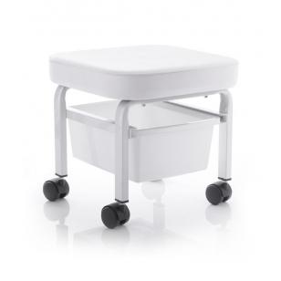 Pedikīra vannas-krēsls ratiņi STOOL FOR COSMETIC PEDICURE