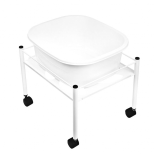 Pedikīra vannas ratiņi SHOWER FOR PEDICURE SIMPLE WHITE