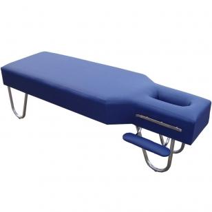 Statsionaarne massaažilaud Steel (Dark Blue)