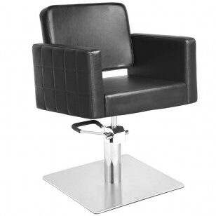 Kirpyklos kėdė GABBIANO HAIRDRESSING CHAIR BLACK