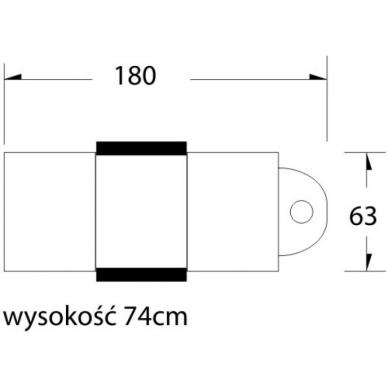 Kosmetologinis krėslas COSMETIC BLACK 9