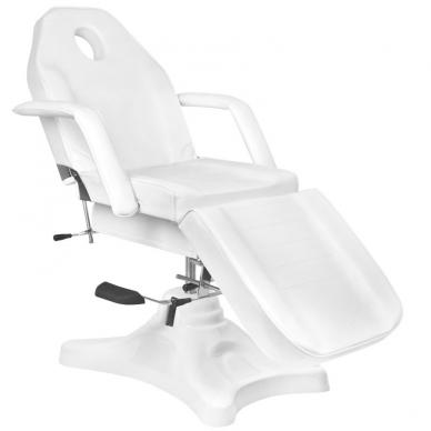 Kosmetologinis krėslas HYDRAULIC SALON WHITE 2