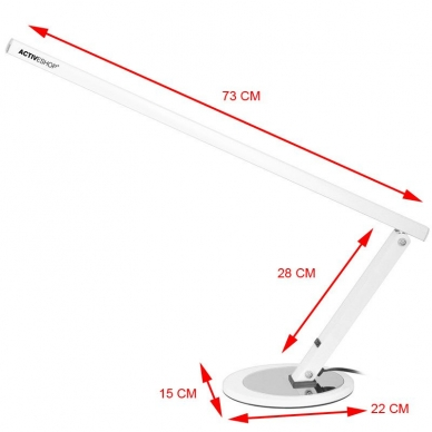 Kosmetologinė LED lempa 20W WHITE 3