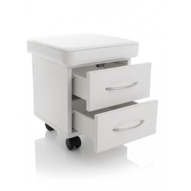 Pedikiūro vežimėlis - kėdutė COSMETIC PEDICURE STOOL 2D 2