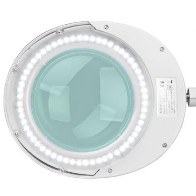 Kosmetologinė LED lempa su lupa 6W (tvirtinama prie stalo) 2