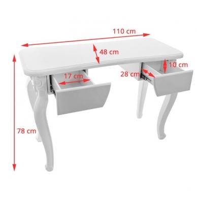 Manikiūro stalas STYLE WHITE  5