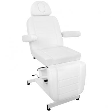 Kosmetologinis krėslas AZZURRO ELECTRIC WHITE 5