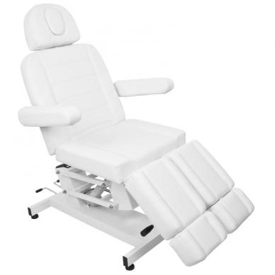 Kosmetologinis krėslas AZZURRO ELECTRIC PEDI WHITE 3