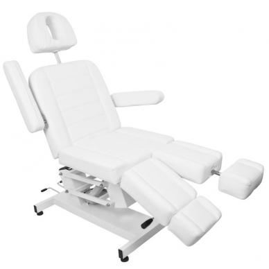 Kosmetologinis krėslas AZZURRO ELECTRIC PEDI WHITE 4