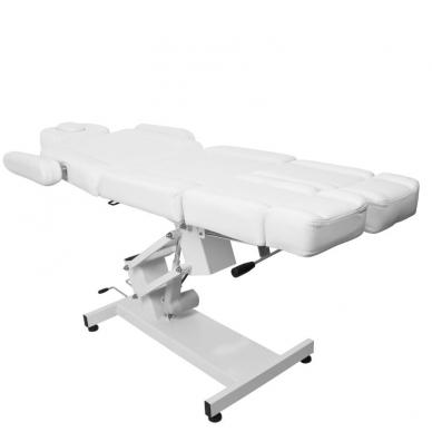 Kosmetologinis krėslas AZZURRO ELECTRIC PEDI WHITE 10