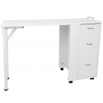Sulankstomas manikiūro stalas DESK FOLDING WHITE