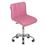 Meistro kėdutė COSMETIC CHAIR PINK