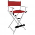 Makiažo kėdė MAKE-UP GLAMOR RED