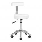 Tool meistri jaoks STOOL BEAUTY BACKREST WHITE