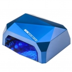 UV/LED/CCFL nagų lempa 48W DIAMOND SENSOR BLUE