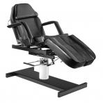 Kosmētikas krēsls HYDRAULIC PEDI BLACK