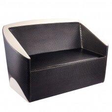Dīvāns GABBIANO SOFA FOR WAITING ROOM BLACK BEIGE