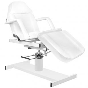 Kosmētikas krēsls HYDRAULIC COSMETIC WHITE