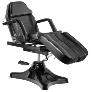 Kosmētikas krēsls HYDRAULIC COSMETIC SALON PEDI BLACK