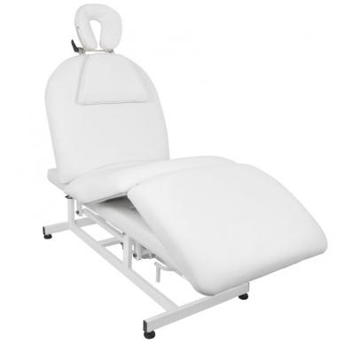 Elektrinis masažo stalas AZZURRO MASSAGE 6 WHITE 4