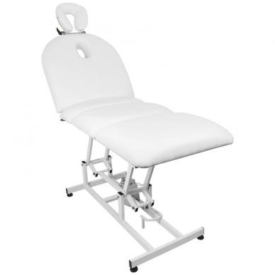 Elektrinis masažo stalas AZZURRO MASSAGE 6 WHITE 5
