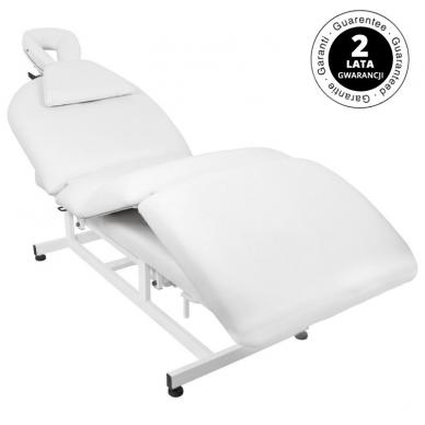 Elektrinis masažo stalas AZZURRO MASSAGE 6 WHITE 7