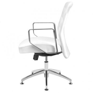 Meistro kėdutė COSMETIC CHAIR RICO PEDICURE WHITE 44CM 3