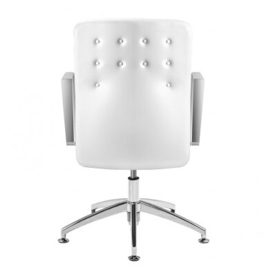 Meistara krēsls COSMETIC CHAIR RICO PEDICURE WHITE 44CM 4