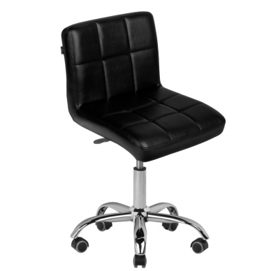 Meistro kėdutė COSMETIC CHAIR BLACK