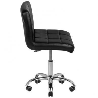 Meistara krēsls COSMETIC CHAIR BLACK 4