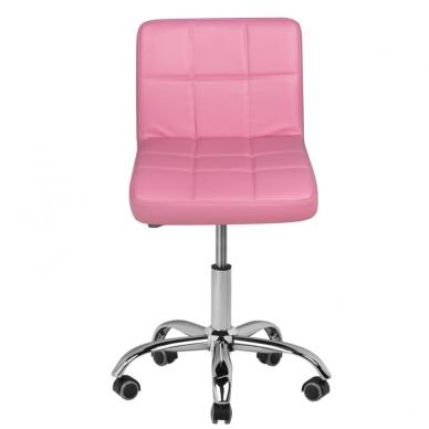 Meistro kėdutė COSMETIC CHAIR PINK 2