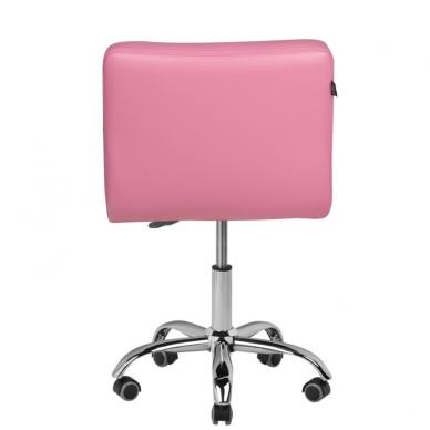 Meistro kėdutė COSMETIC CHAIR PINK 3