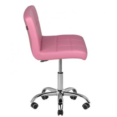 Meistro kėdutė COSMETIC CHAIR PINK 4