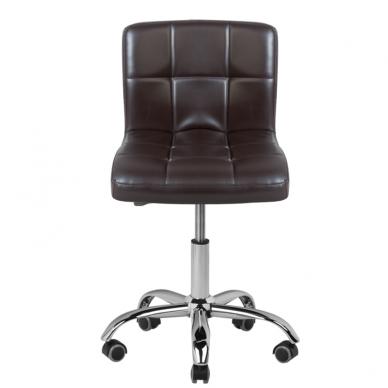 Meistara krēsls COSMETIC CHAIR BROWN 2