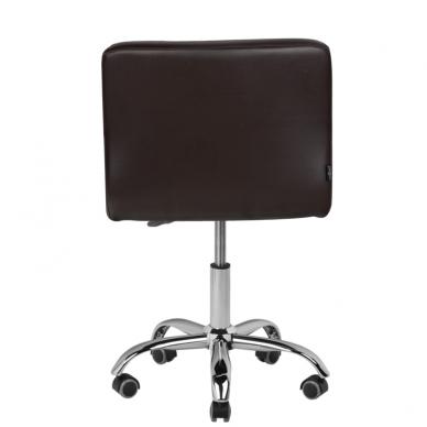 Meistro kėdutė COSMETIC CHAIR BROWN 3
