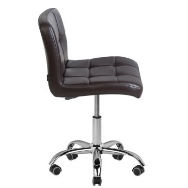 Meistro kėdutė COSMETIC CHAIR BROWN 4