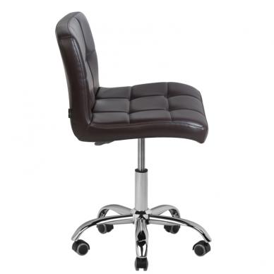 Meistara krēsls COSMETIC CHAIR BROWN 4