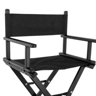 Makiažo kėdė MAKE-UP GLAMOR BLACK 2