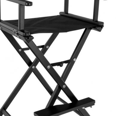 Makiažo kėdė MAKE-UP GLAMOR BLACK 3