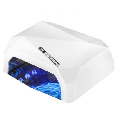 UV/LED/CCFL nagų lempa 48W DIAMOND SENSOR WHITE