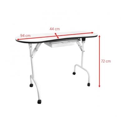 Sulankstomas manikiūro stalas DESK FOLDING 3