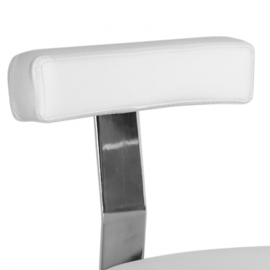 Meistro kėdutė STOOL BEAUTY BACKREST WHITE 4