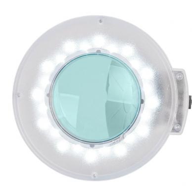 Kosmetologinė lempa LED su lupa ir stovu 12W (pastatoma ant grindų) 2